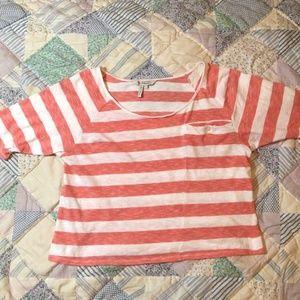 BCBG Cropped Shirt